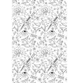 Old school tattoo pattern vector