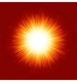 Sunburst rays background vector