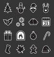 Christmas icon vector