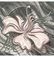 The water lily vector