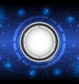 Future digital concept technology background vector