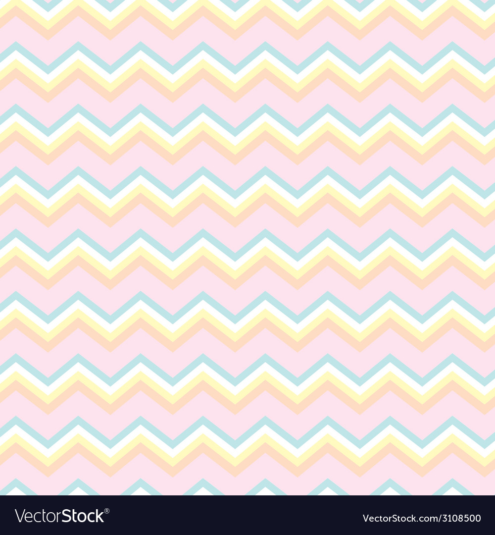 Chevron baby colors vector | Price: 1 Credit (USD $1)