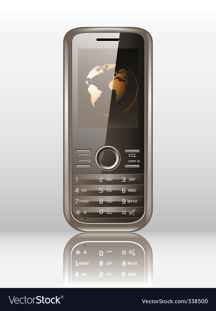 Mobile phone vector   Price: 1 Credit (USD $1)