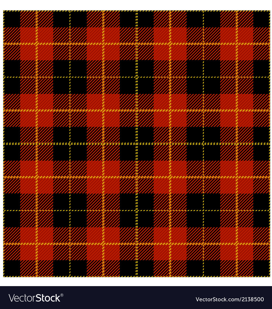 Red tartan plaid design vector | Price: 1 Credit (USD $1)