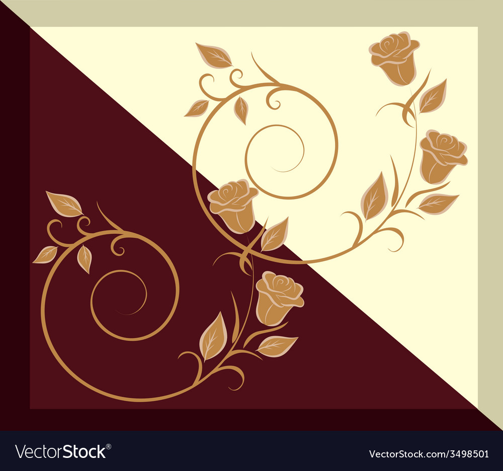 The pattern on the tile - chocolate and vanilla vector | Price: 1 Credit (USD $1)