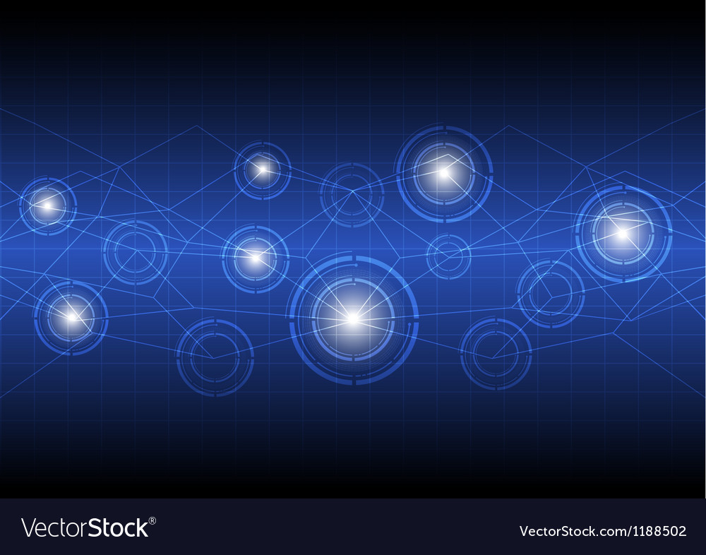 Future digital concept technology vector | Price: 1 Credit (USD $1)