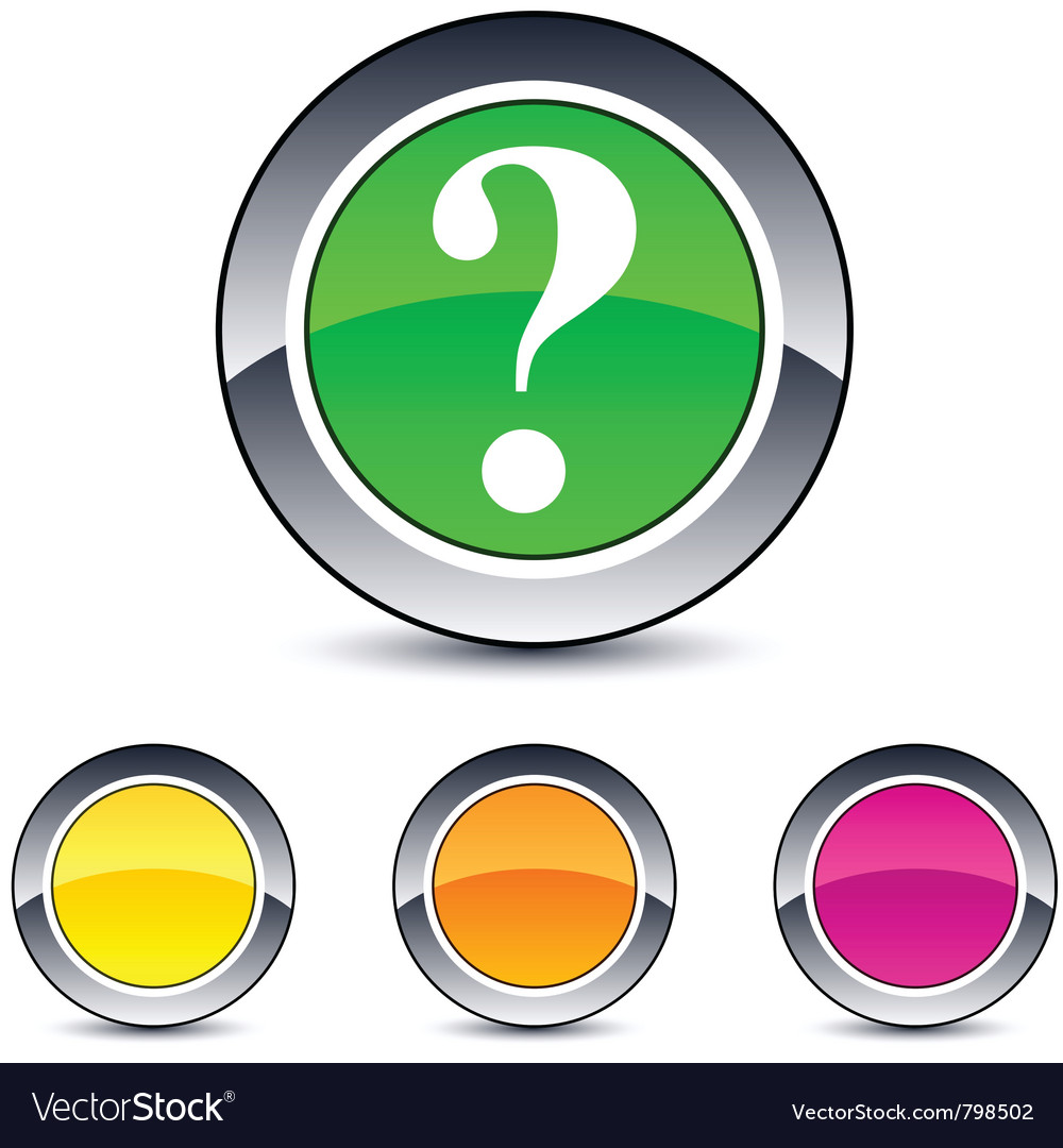 Help round button vector | Price: 1 Credit (USD $1)