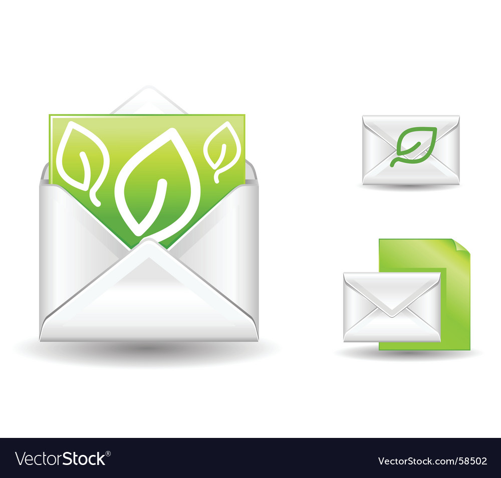Letter eco vector | Price: 1 Credit (USD $1)