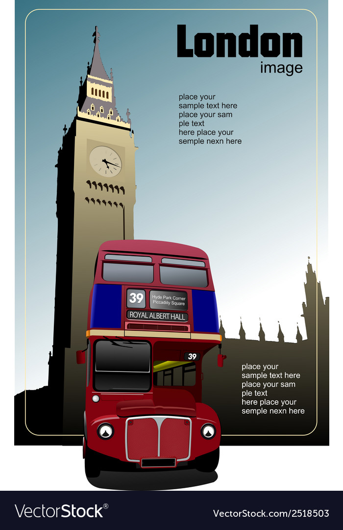 Al 0316 london image vector | Price: 1 Credit (USD $1)