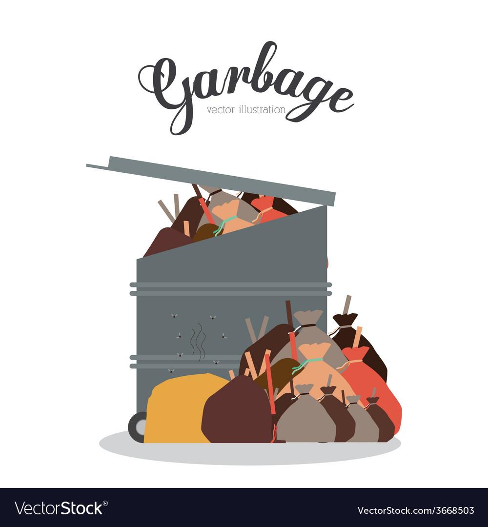Garbage design vector   Price: 1 Credit (USD $1)