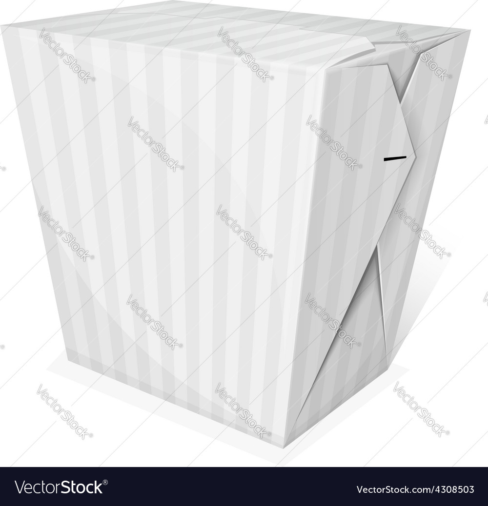 Noodle box vector | Price: 1 Credit (USD $1)