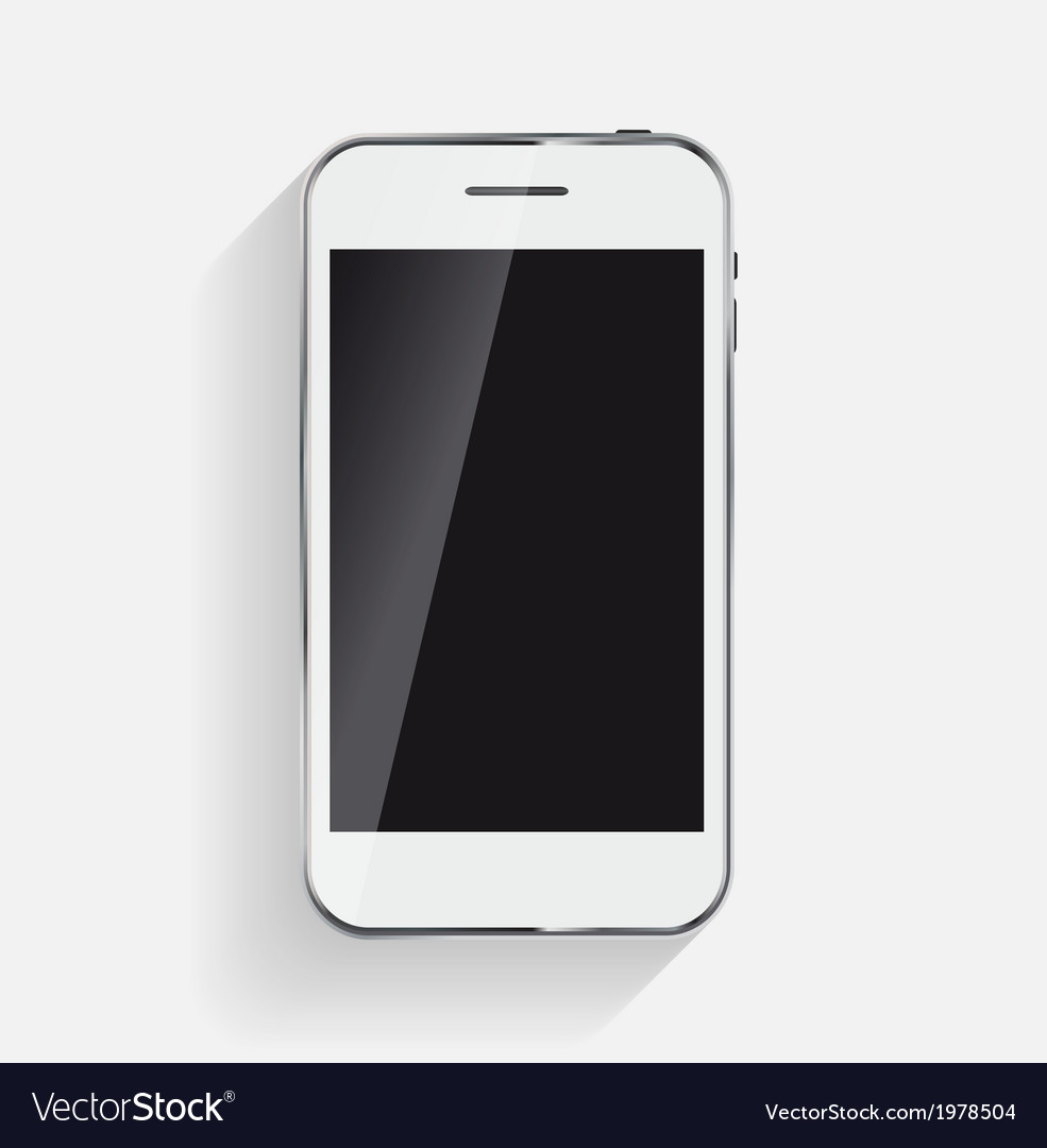 Abstract design mobile phone vector | Price: 1 Credit (USD $1)
