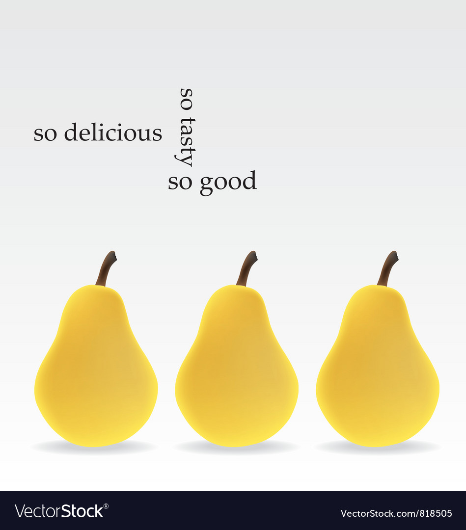 Pears vector   Price: 1 Credit (USD $1)