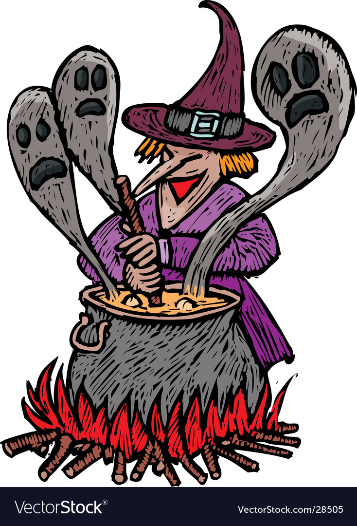 Spooky witch vector   Price: 1 Credit (USD $1)