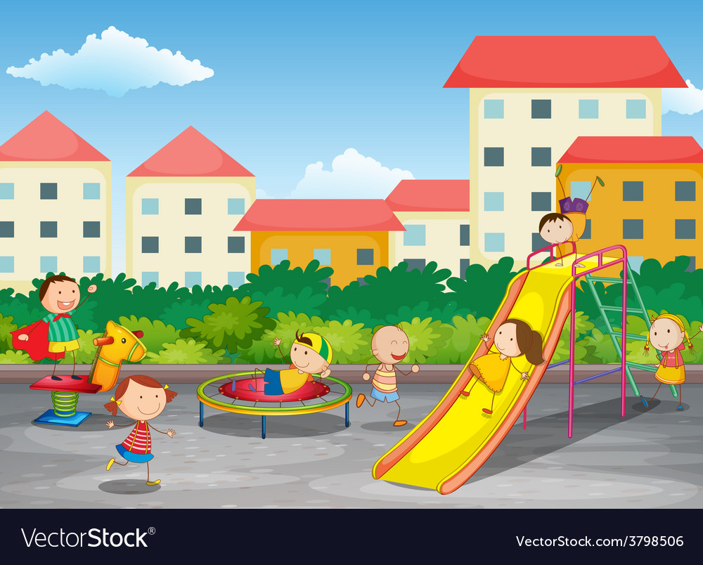 A playground vector | Price: 1 Credit (USD $1)