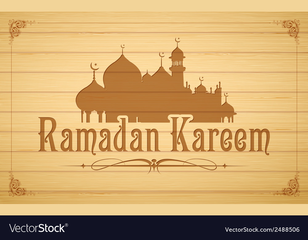 Ramadan kareem generous ramadan background vector | Price: 1 Credit (USD $1)