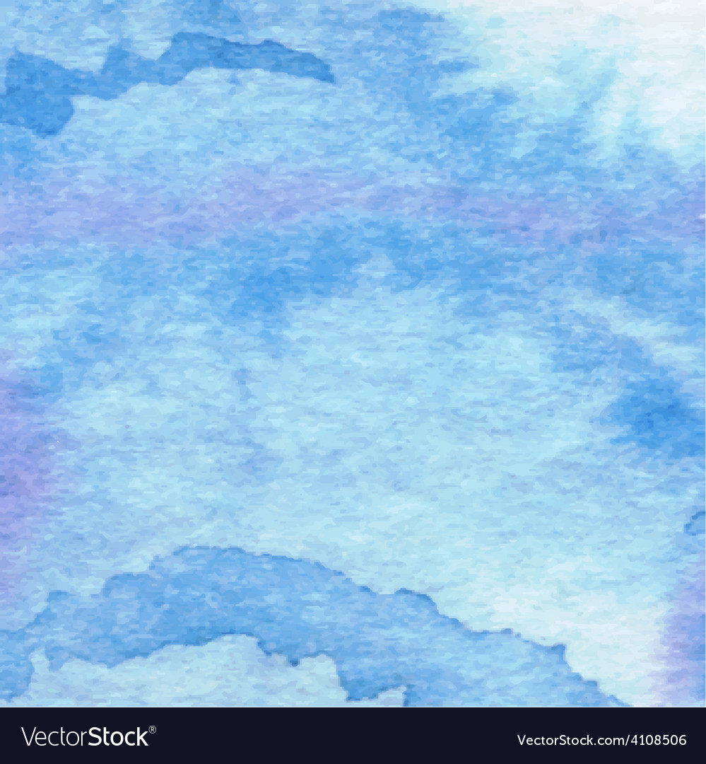 Watercolor aqua background-abstract hand drawn vector | Price: 1 Credit (USD $1)