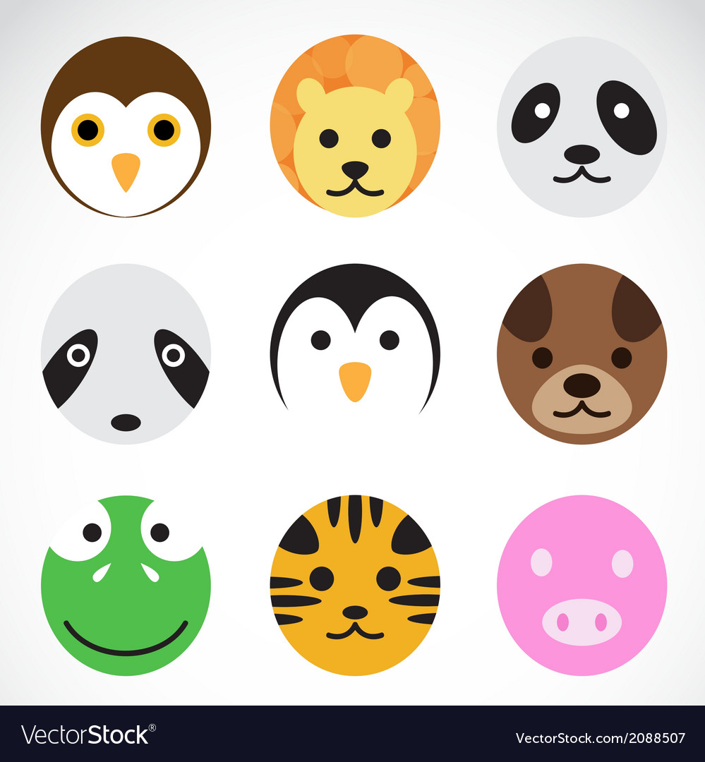 Animal icons vector | Price: 1 Credit (USD $1)