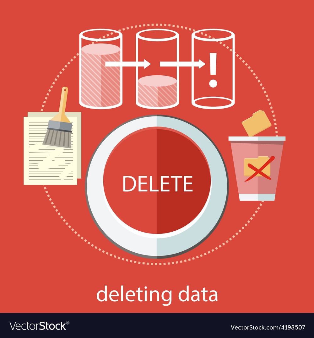 Deleting data vector | Price: 1 Credit (USD $1)