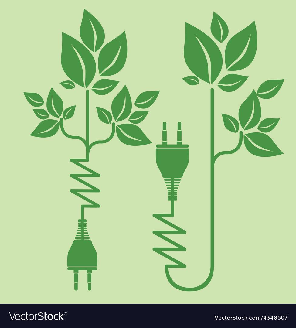 Energy saving design vector | Price: 1 Credit (USD $1)