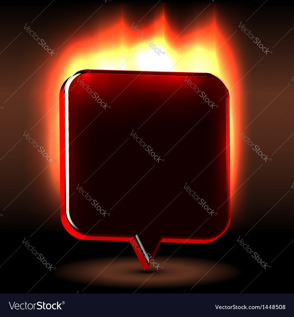Advertising urgent flaming label vector | Price: 1 Credit (USD $1)
