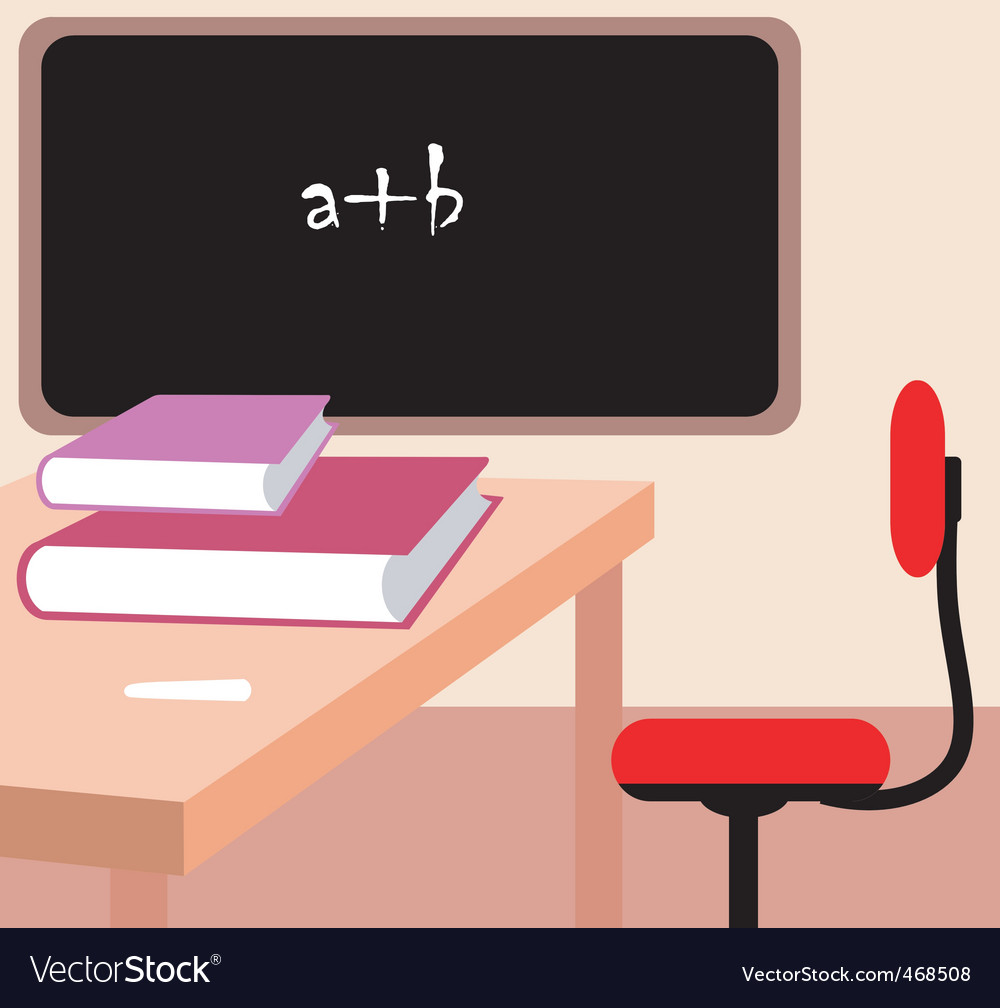 Class room vector | Price: 1 Credit (USD $1)