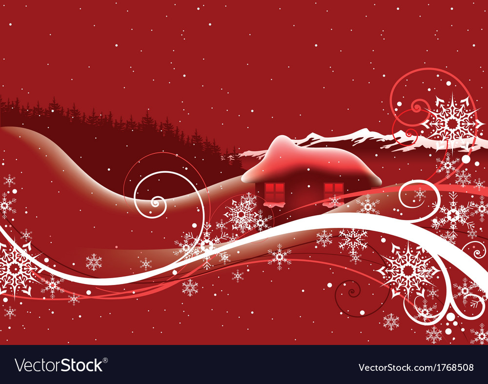 Red abstract christmas vector   Price: 1 Credit (USD $1)