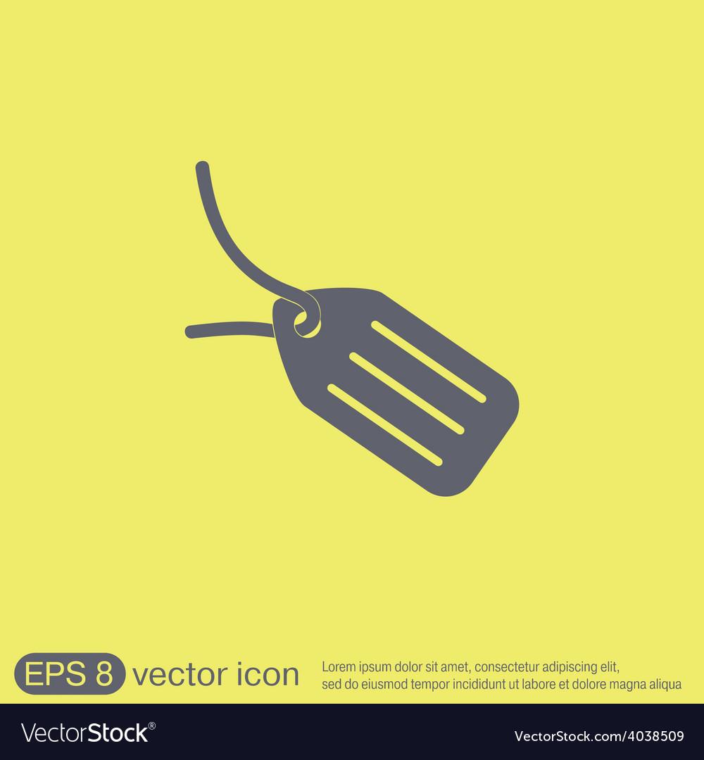 Label icon button vector | Price: 1 Credit (USD $1)