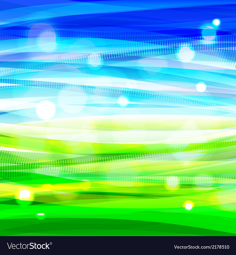 Bright colorful shiny summer background vector | Price: 1 Credit (USD $1)