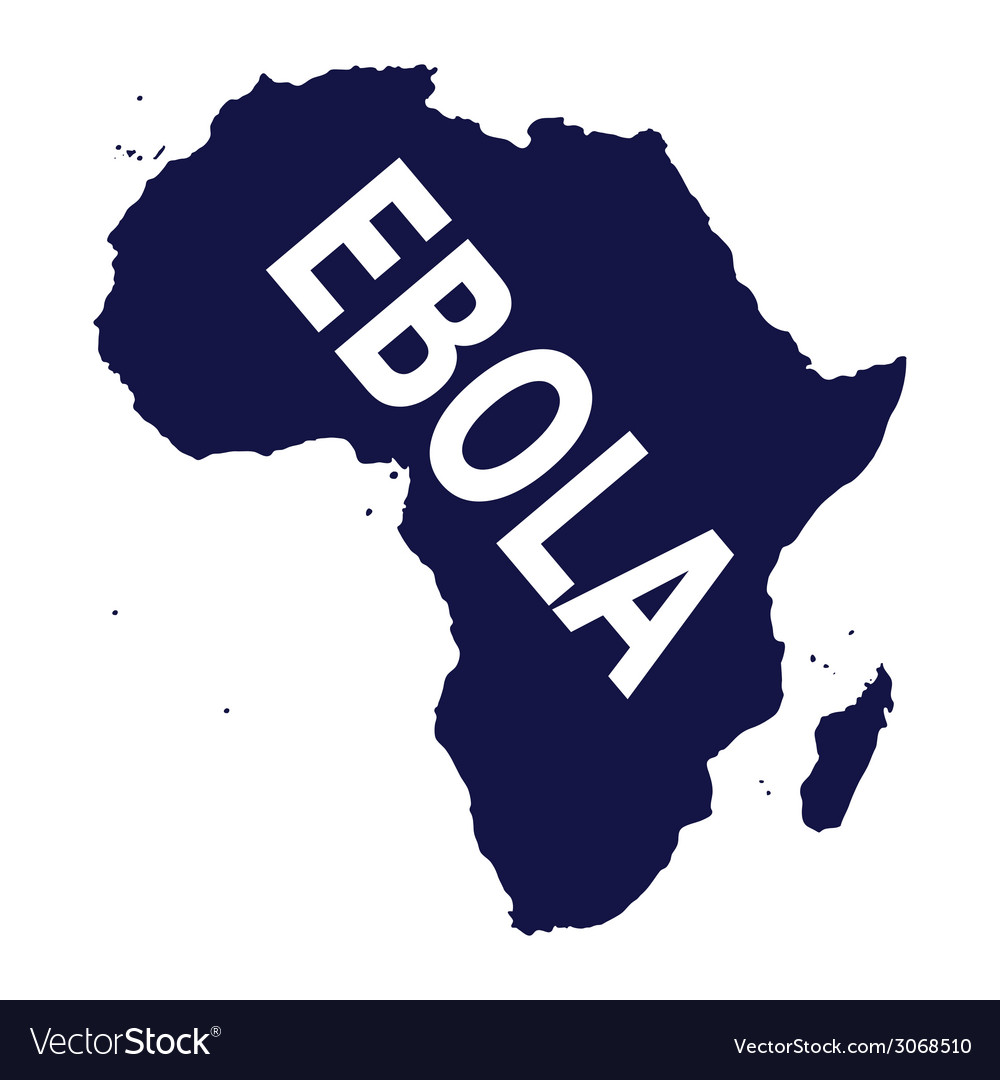 Ebola virus in africa vector | Price: 1 Credit (USD $1)