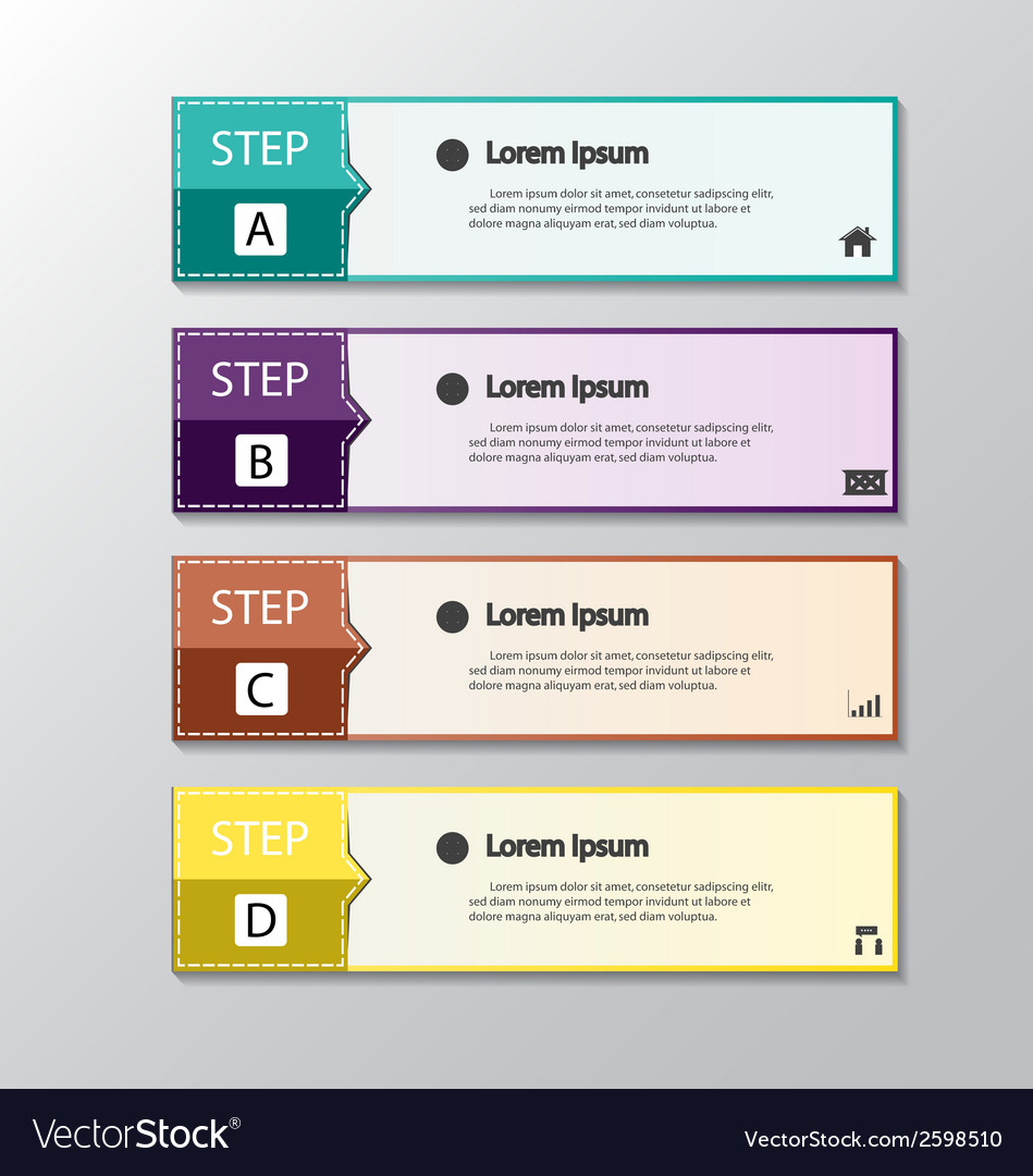 Modern design banners template graphic vector | Price: 1 Credit (USD $1)