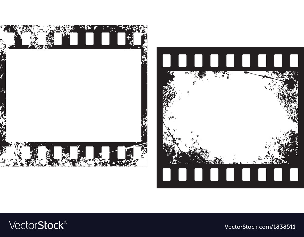 Grunge film frames vector | Price: 1 Credit (USD $1)