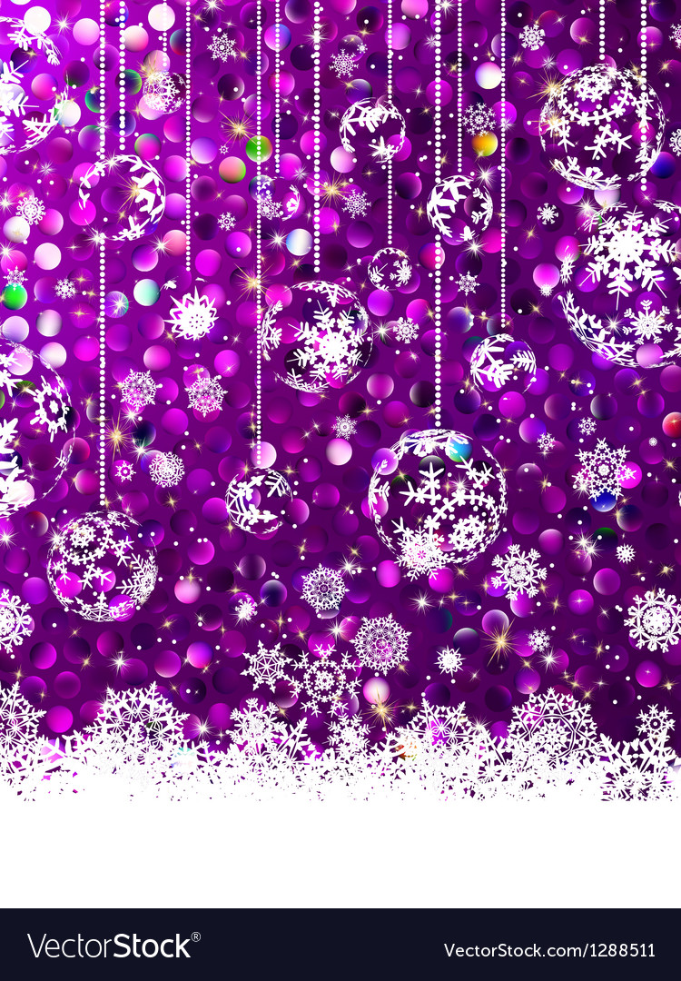 Pink christmas background eps 8 vector | Price: 1 Credit (USD $1)