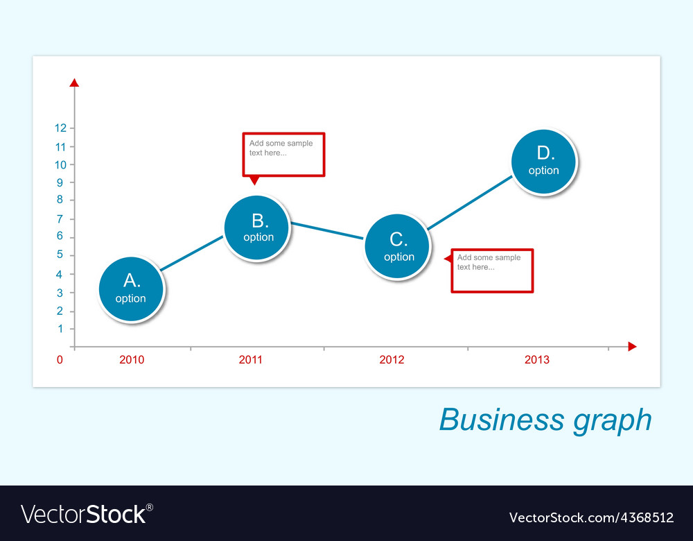 Business-graph vector | Price: 1 Credit (USD $1)