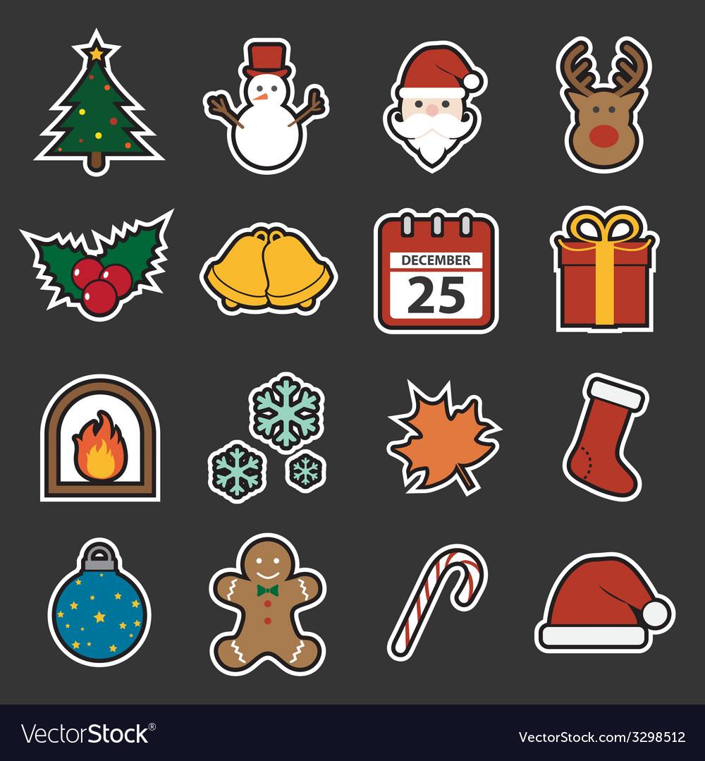Christmas icon vector   Price: 1 Credit (USD $1)