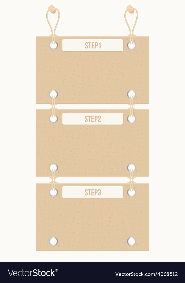 Old paper banners vector | Price: 1 Credit (USD $1)