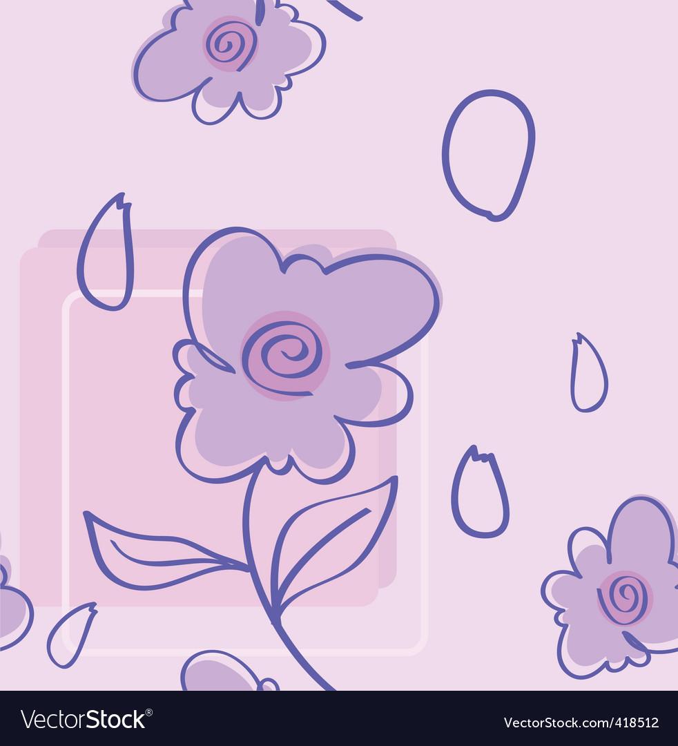 Violet pattern vector | Price: 1 Credit (USD $1)
