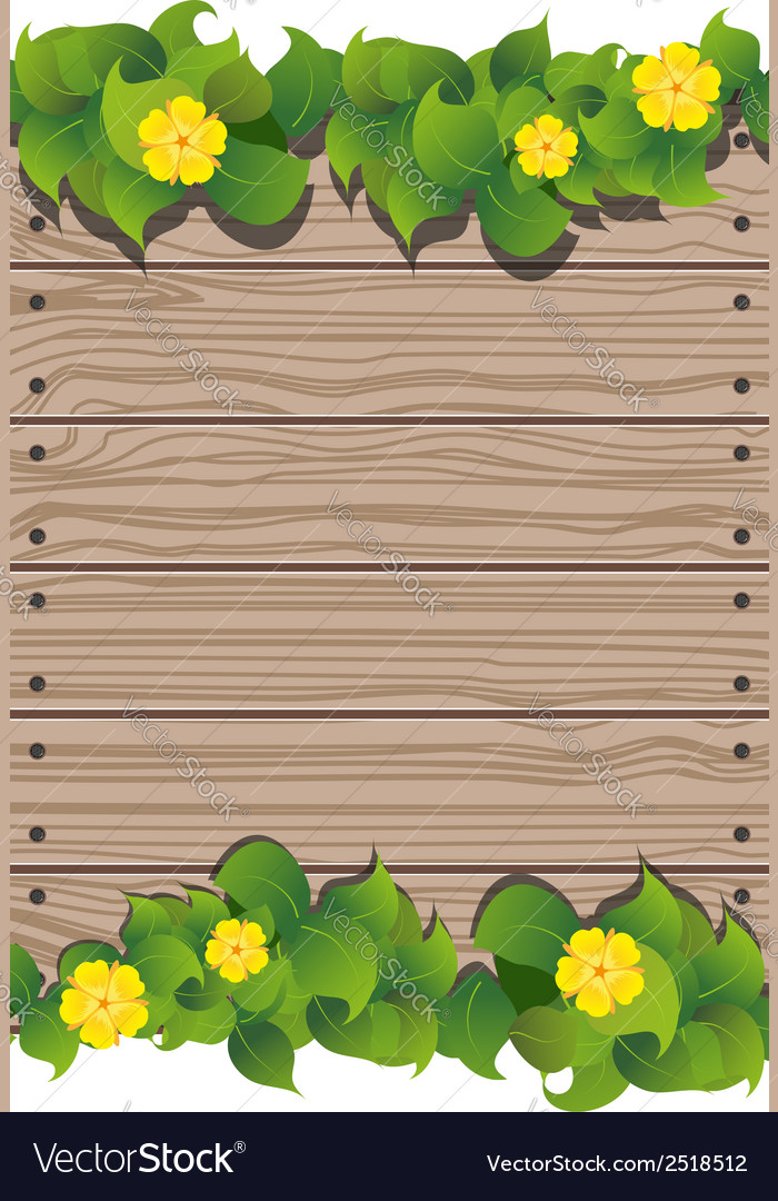 Yellow flowers and fence vector   Price: 1 Credit (USD $1)