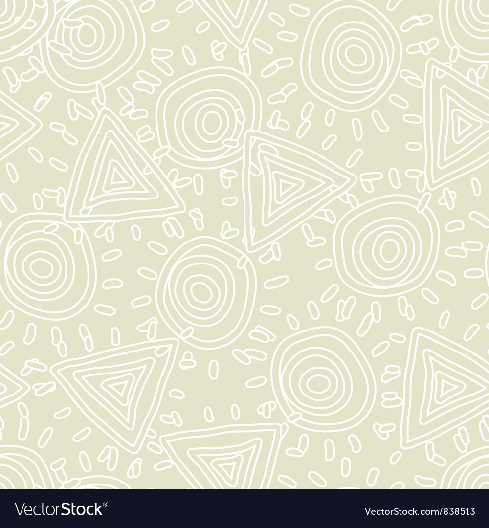 Seamless texture with abstract sun vector | Price: 1 Credit (USD $1)