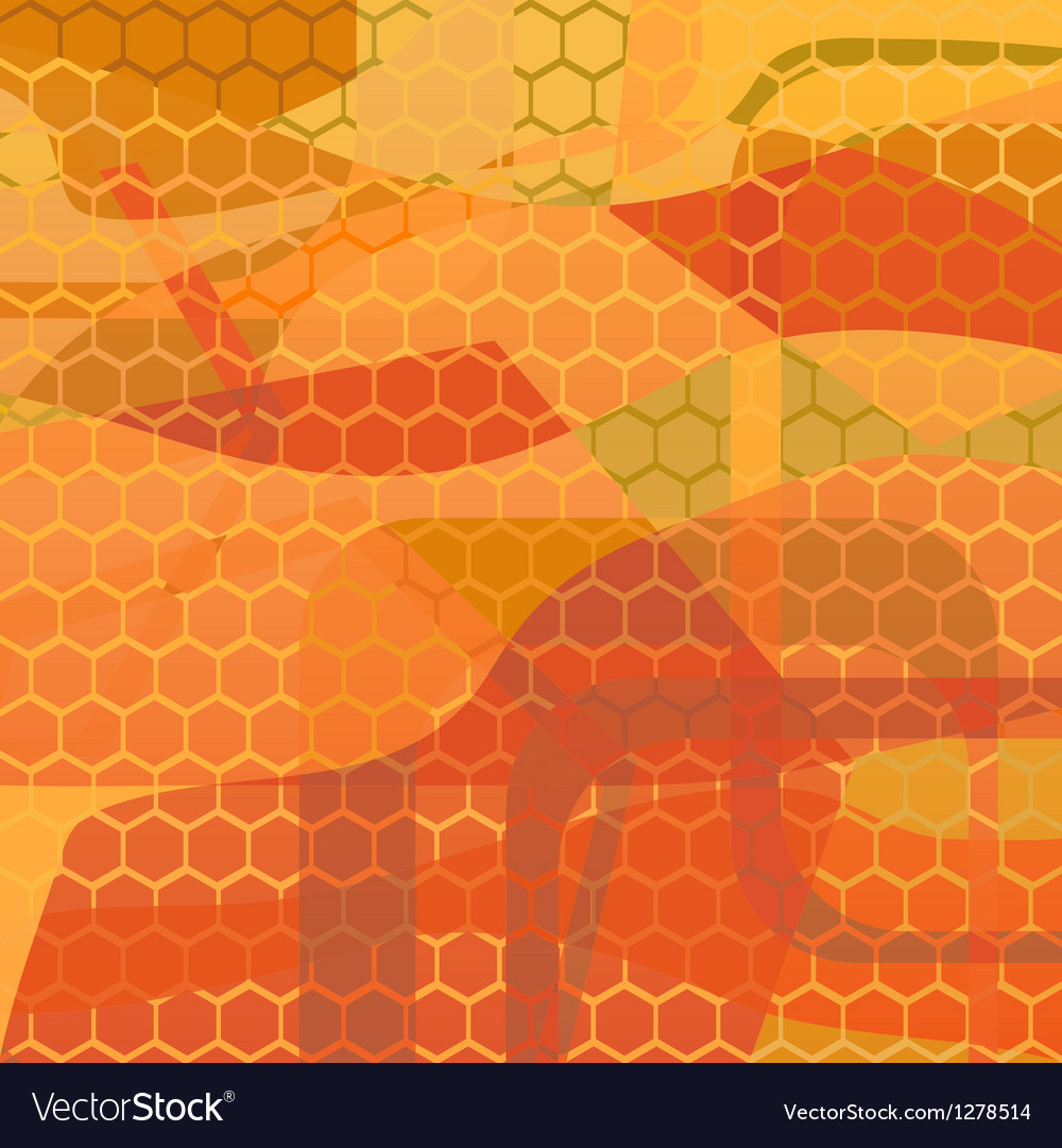 Abstract background - honey vector | Price: 1 Credit (USD $1)
