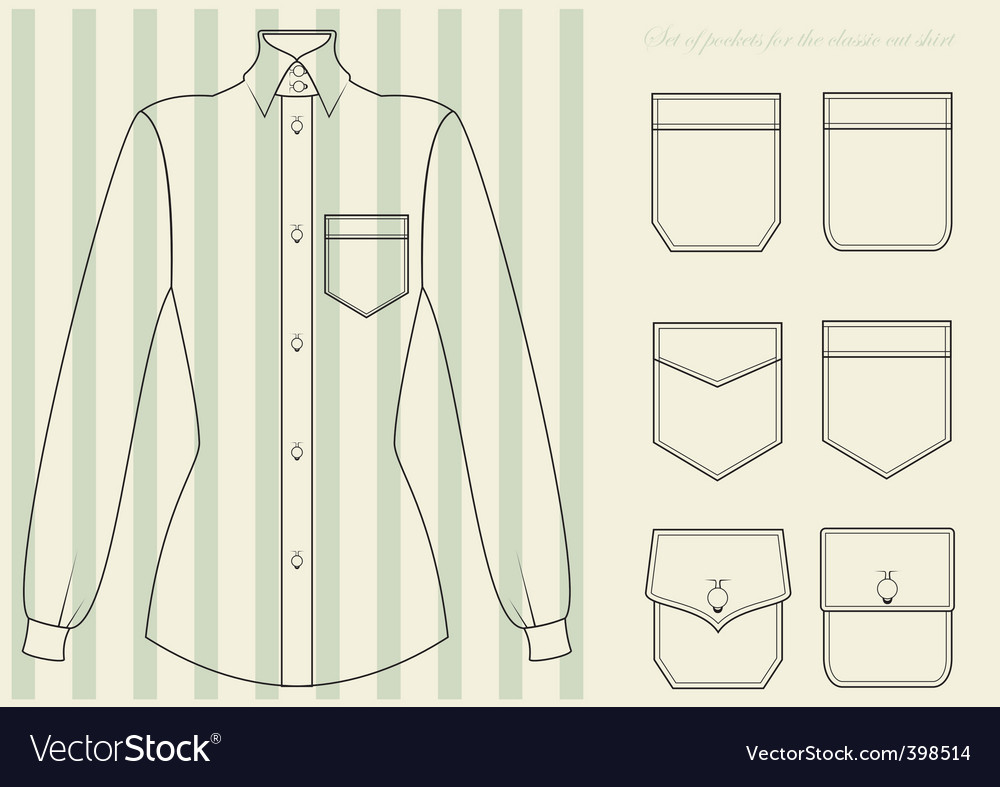 Classic shirt vector | Price: 1 Credit (USD $1)