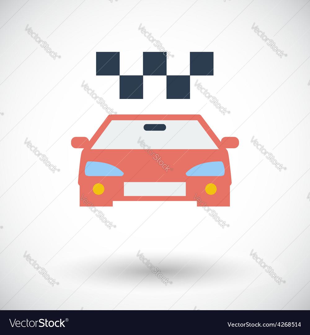 Icon taxi vector | Price: 1 Credit (USD $1)