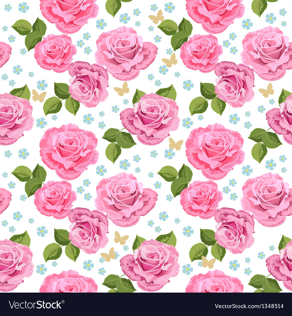 Rose seamless3 vector   Price: 1 Credit (USD $1)