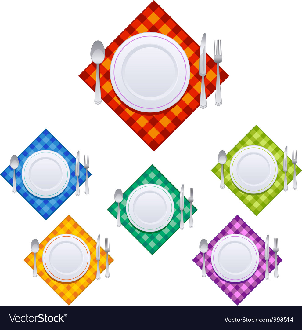 Set of kitchen objects vector | Price: 1 Credit (USD $1)