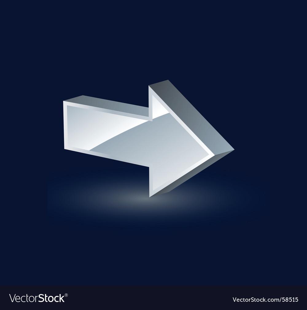 Arrow vector | Price: 1 Credit (USD $1)