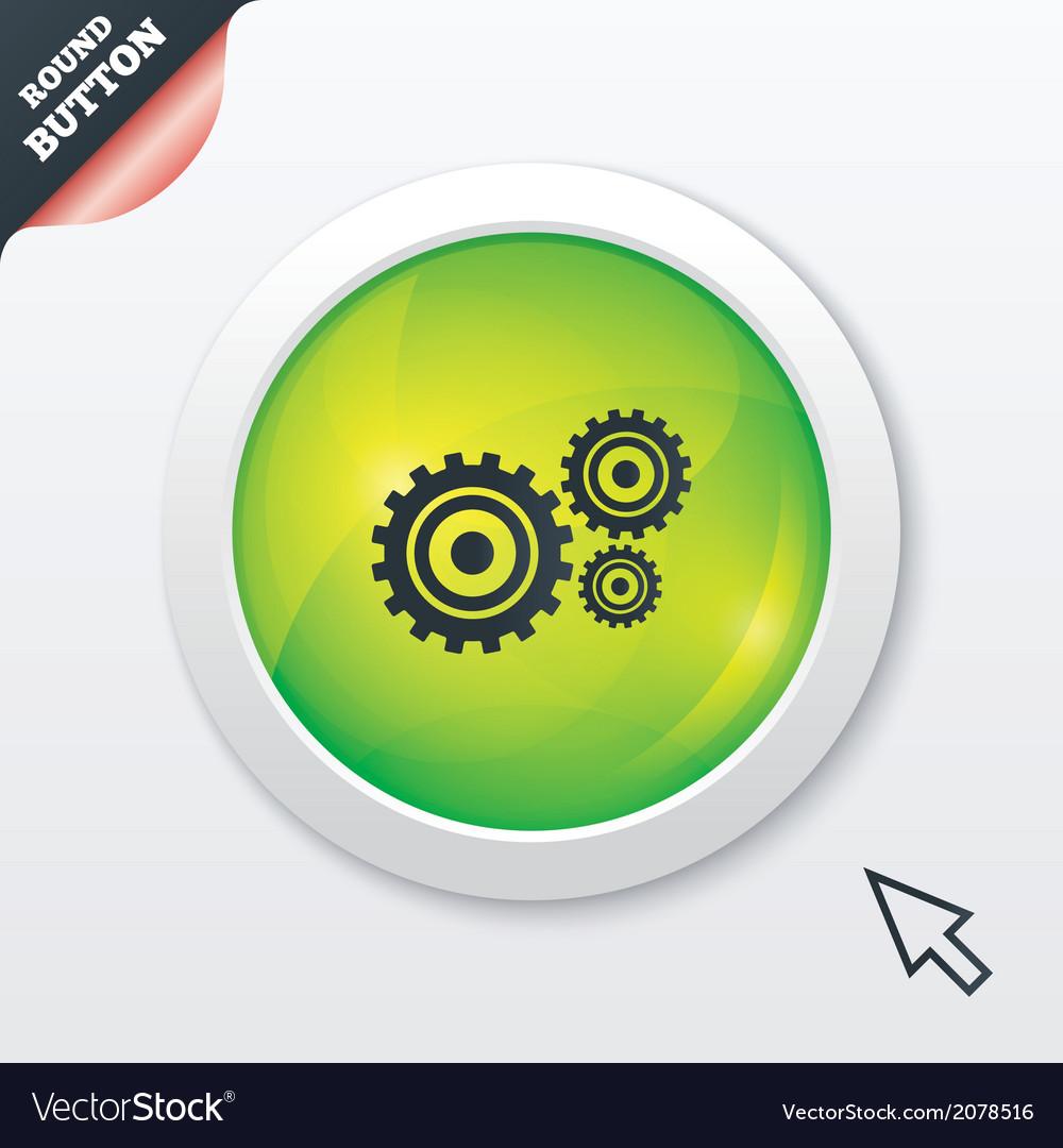 Cog settings sign icon cogwheel gear symbol vector   Price: 1 Credit (USD $1)