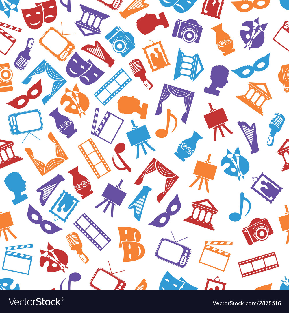Culture seamless pattern vector   Price: 1 Credit (USD $1)