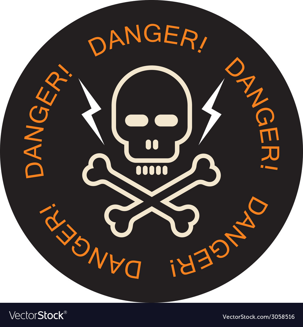 Danger icon vector | Price: 1 Credit (USD $1)