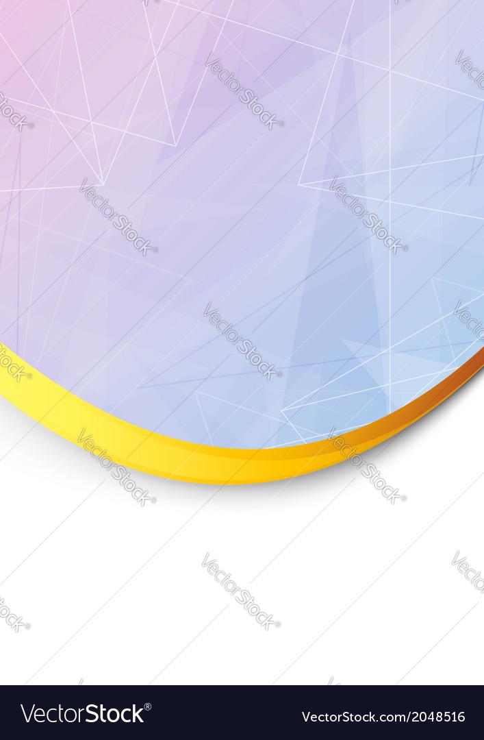 Folder with metal golden border vector | Price: 1 Credit (USD $1)