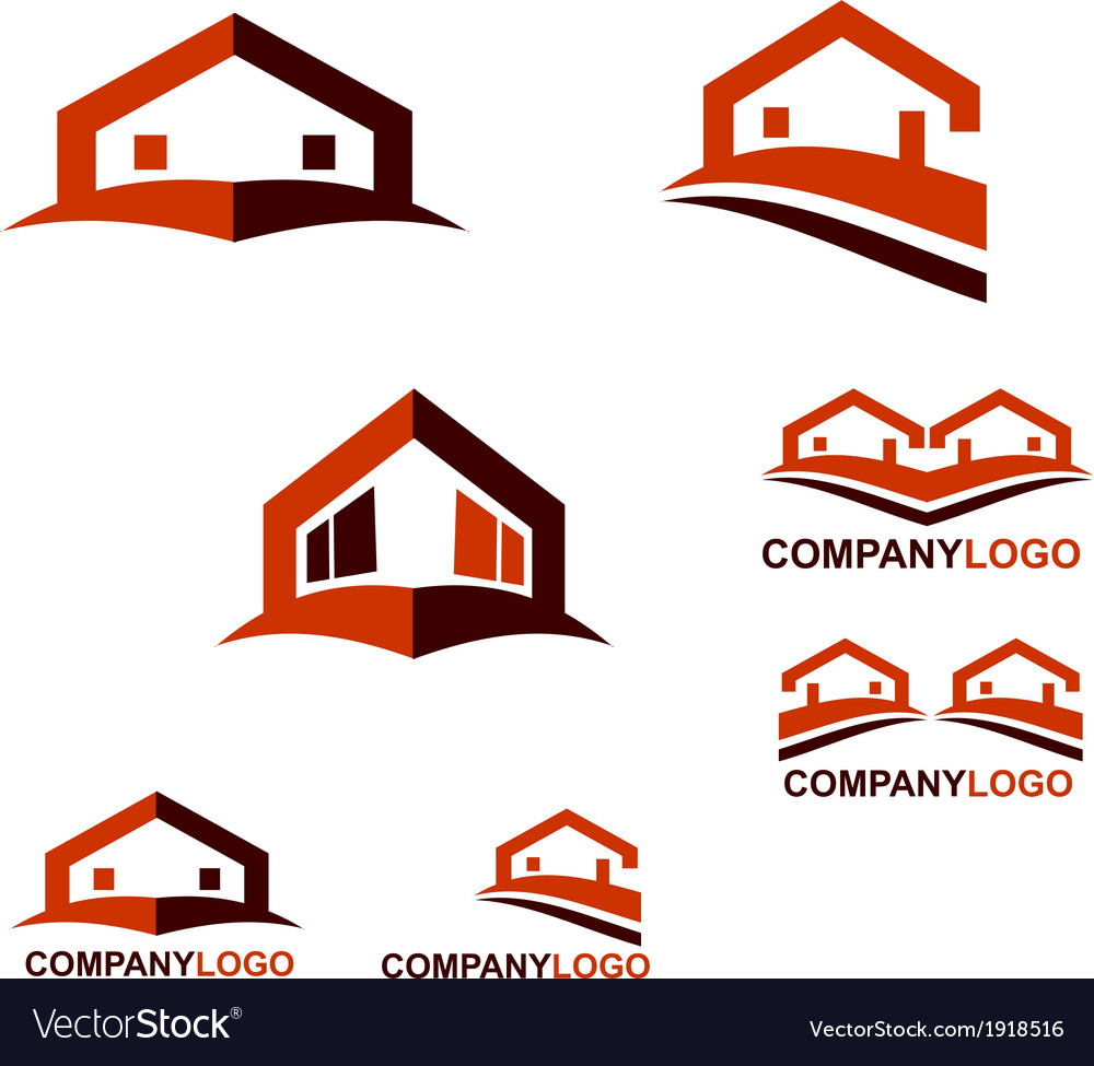 Real estate logo and web icon vector | Price: 1 Credit (USD $1)